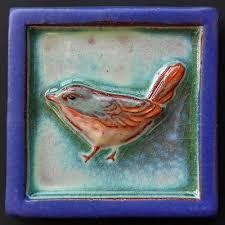 Parran Collery, Ceramic Tile, click to visit her website.