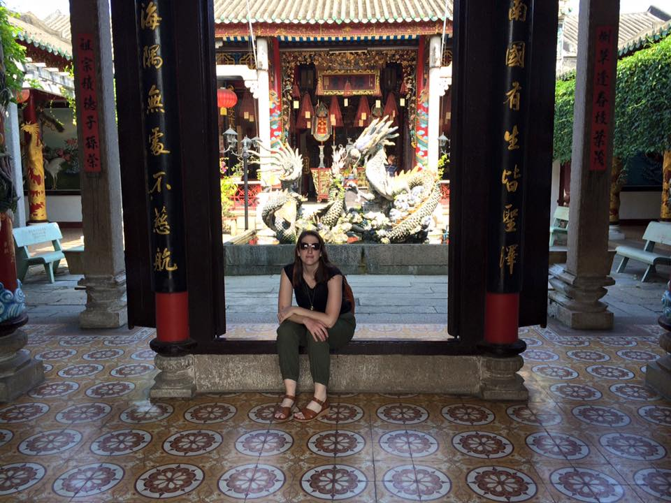 Chillin at the Assembly Hall of the Fujian Chinese Congregation, nbd.