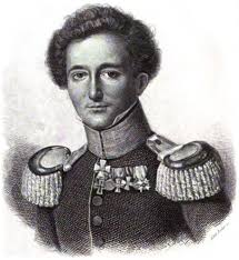 Retrato de Carl Von Clausewitz, tratadista militar prusiano.