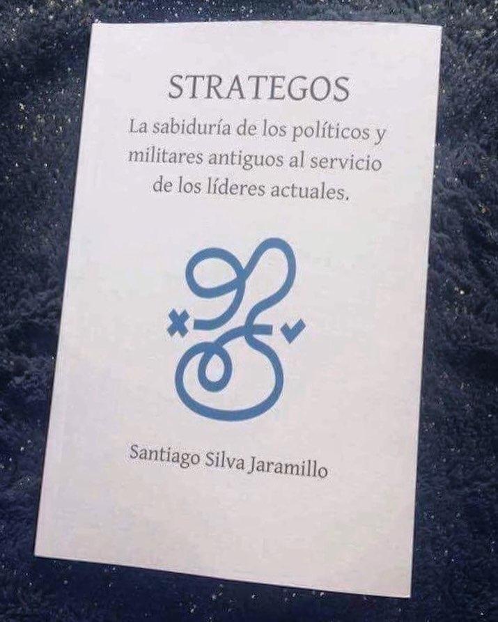 """La portada de """"Strategos: La sabiduría de los políticos y militares de la antigüedad al servicio de los líderes actuales""""."""
