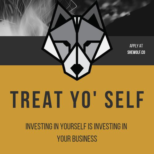 Treat yo' self .png