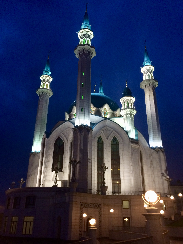 The Qolşärif Mosque in the Kazan Kremlin