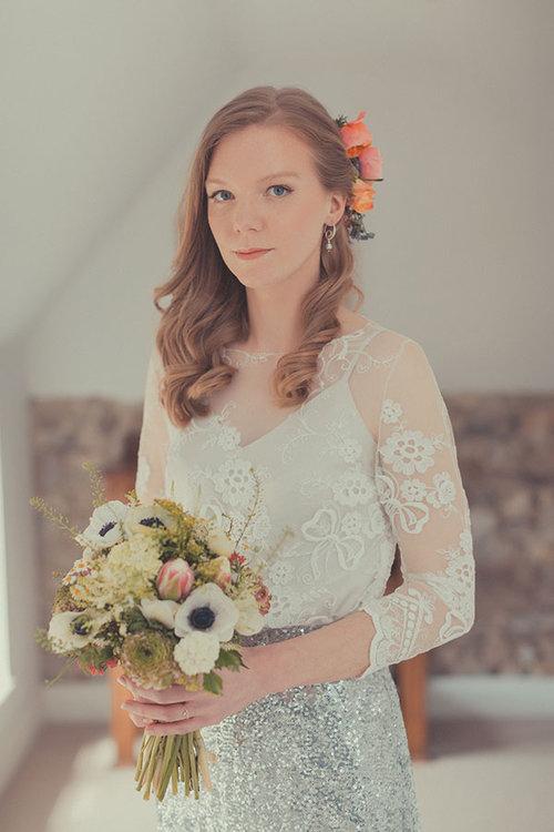 Christy Waterfall wedding make-up