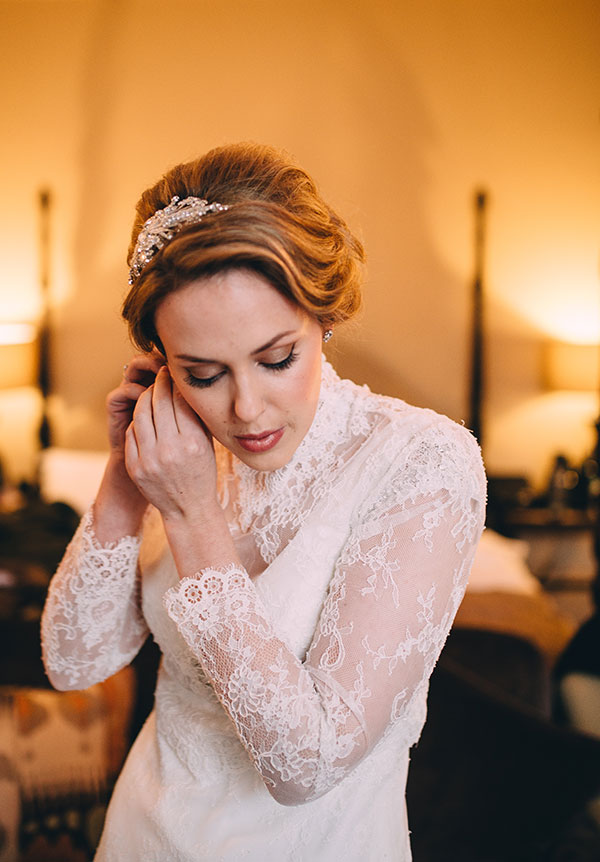 Wedding makeup in Bath and Somerset