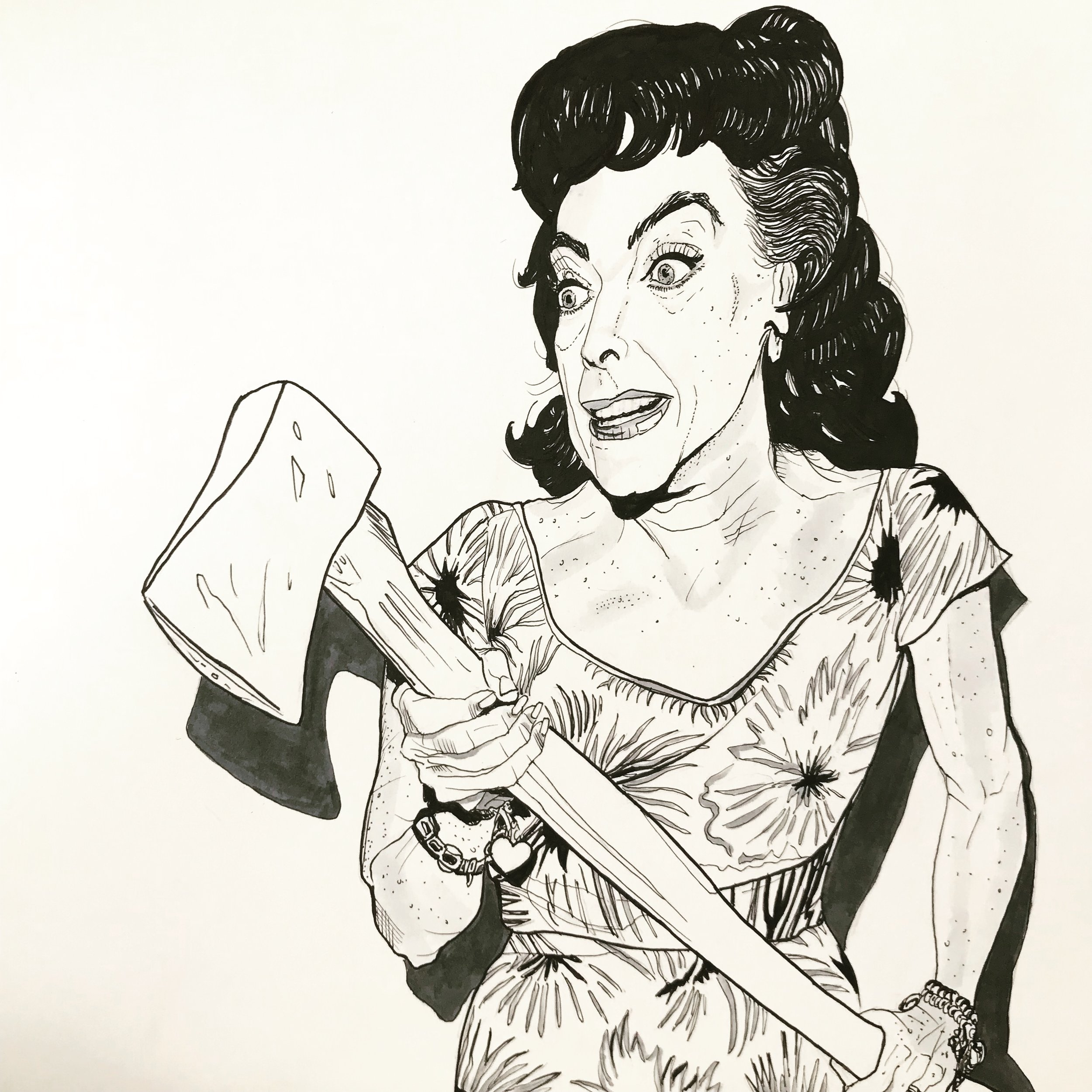 Lucy Harbin Took An Axe