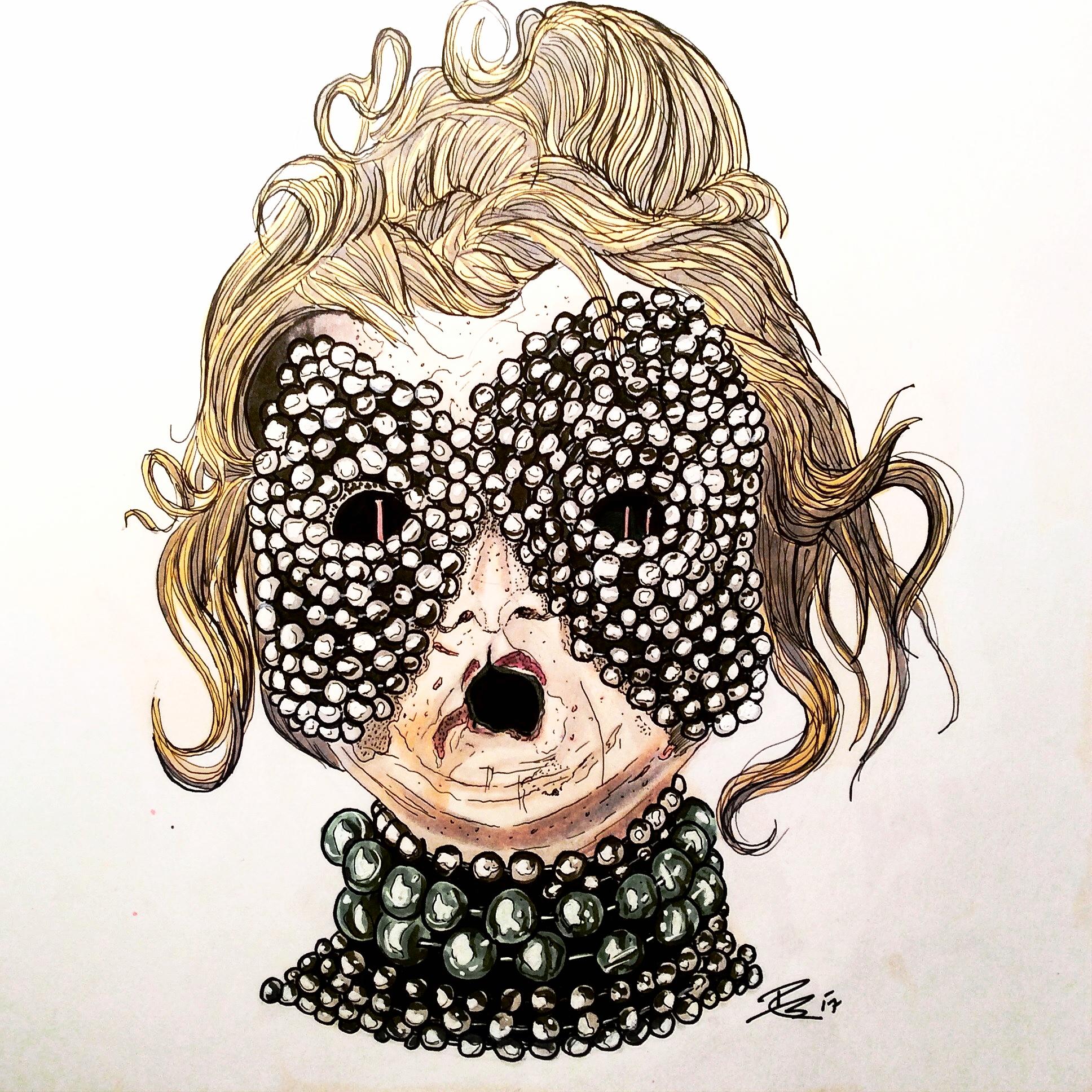 Mardi Gras Petrified