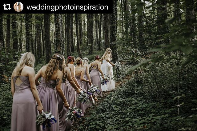 Quite frankly one of my most favorite #weddingphotos #weddingphotography #bride #bridesmaids #hikeny #wedding #nature #love #weddinginspiration
