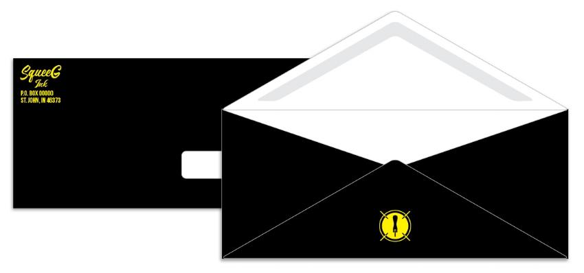 SqueeG Ink Envelope