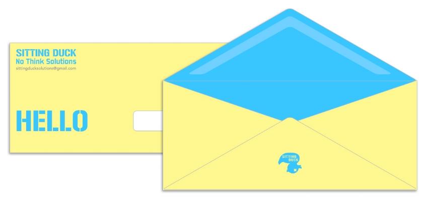 Welcome Letter Envelope