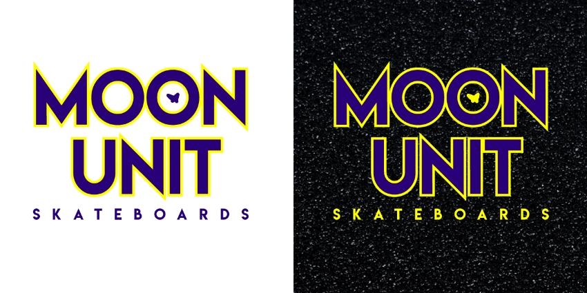 Moon Unit Logo (type-based: stacked)