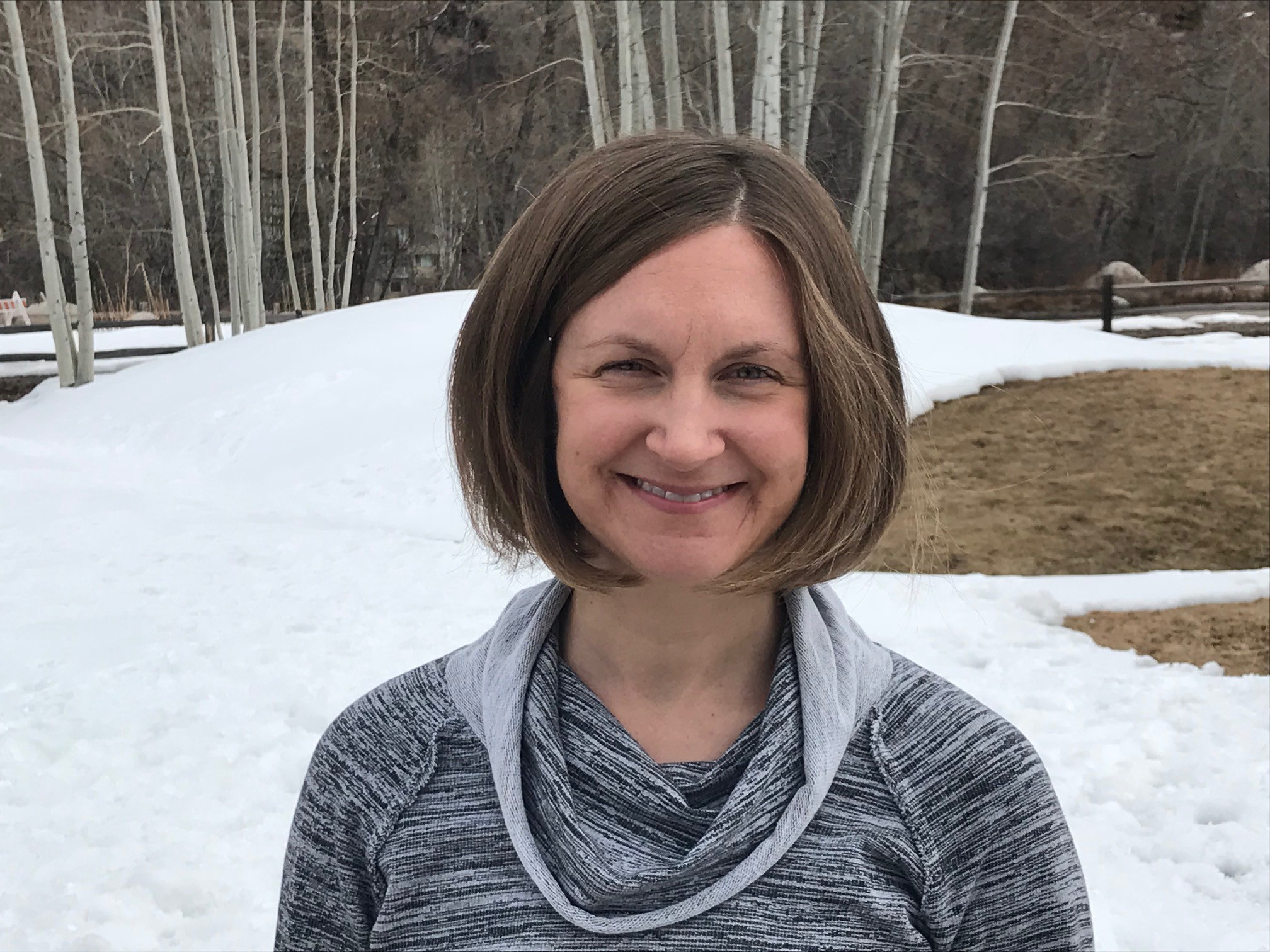 Marci Krivonen is a certified yoga instructor who began teaching at the Pitkin County Jail in 2014. She's interested in yoga as a tool for healing for people who have experienced trauma. Marci also works in digital marketing for The Aspen Institute. Prior to that she was a public media journalist who reported on the jail yoga program's start in Aspen! -