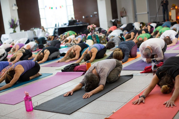 The Aspen Times - People come here, they experience optimal well-being, they are being taken care of on such a whole-person level of such an inspirational platform of speakers and then the movement and then the meditation.October 23, 2017 //