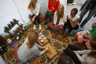Aspen Public Radio - People who attend the Lead With Love conference will take yoga and meditation classes with some of the world's leading yogis. It's the signature event for the nonprofit, Aspen City of Wellbeing.October 23, 2017 //