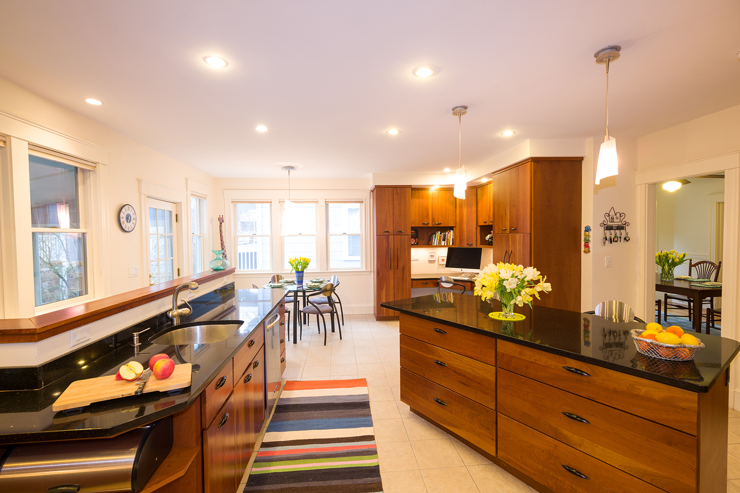 1500 - 110 Fayerweather Street Kitchen looking to breakfast table.jpg