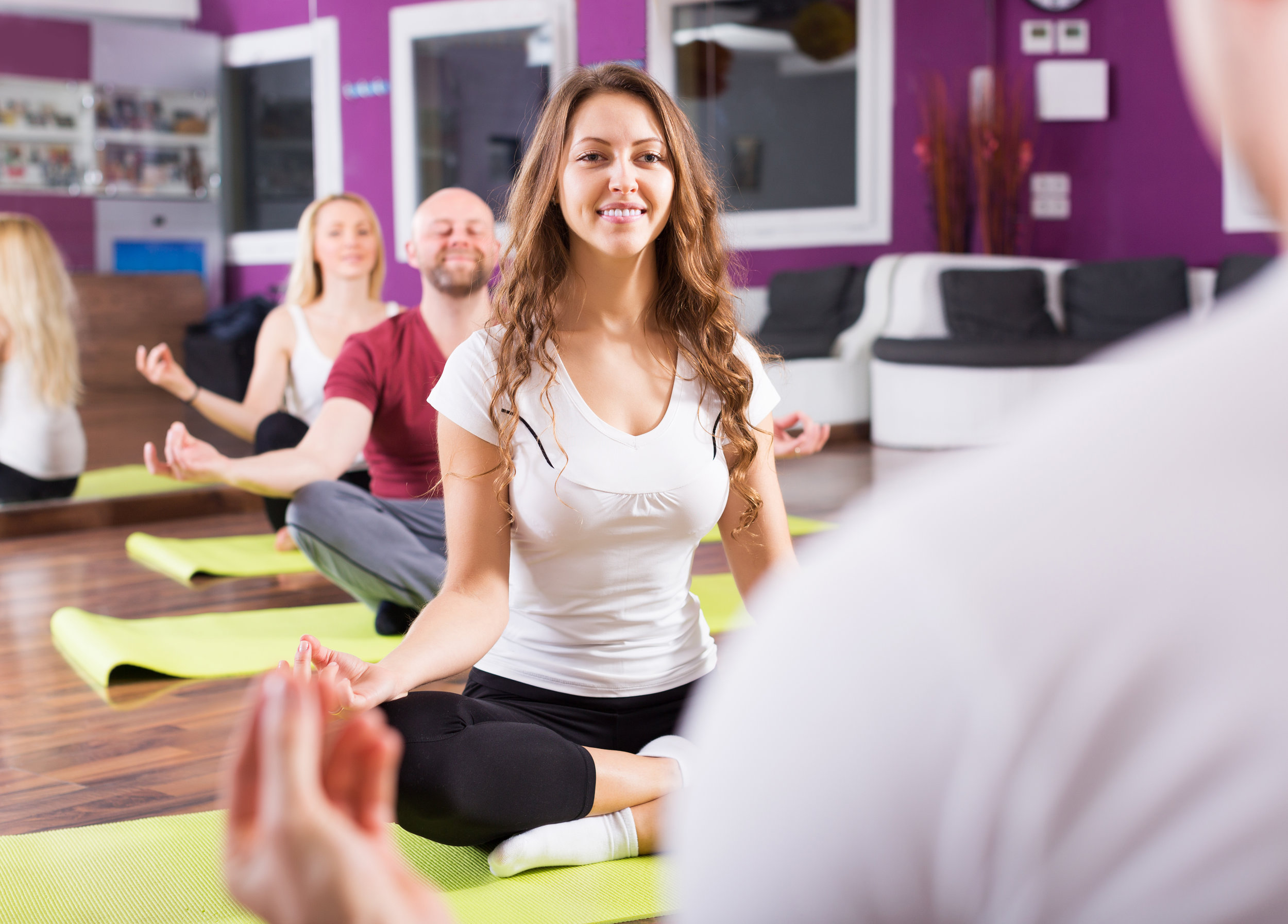yoga / mindfulness at the workplace