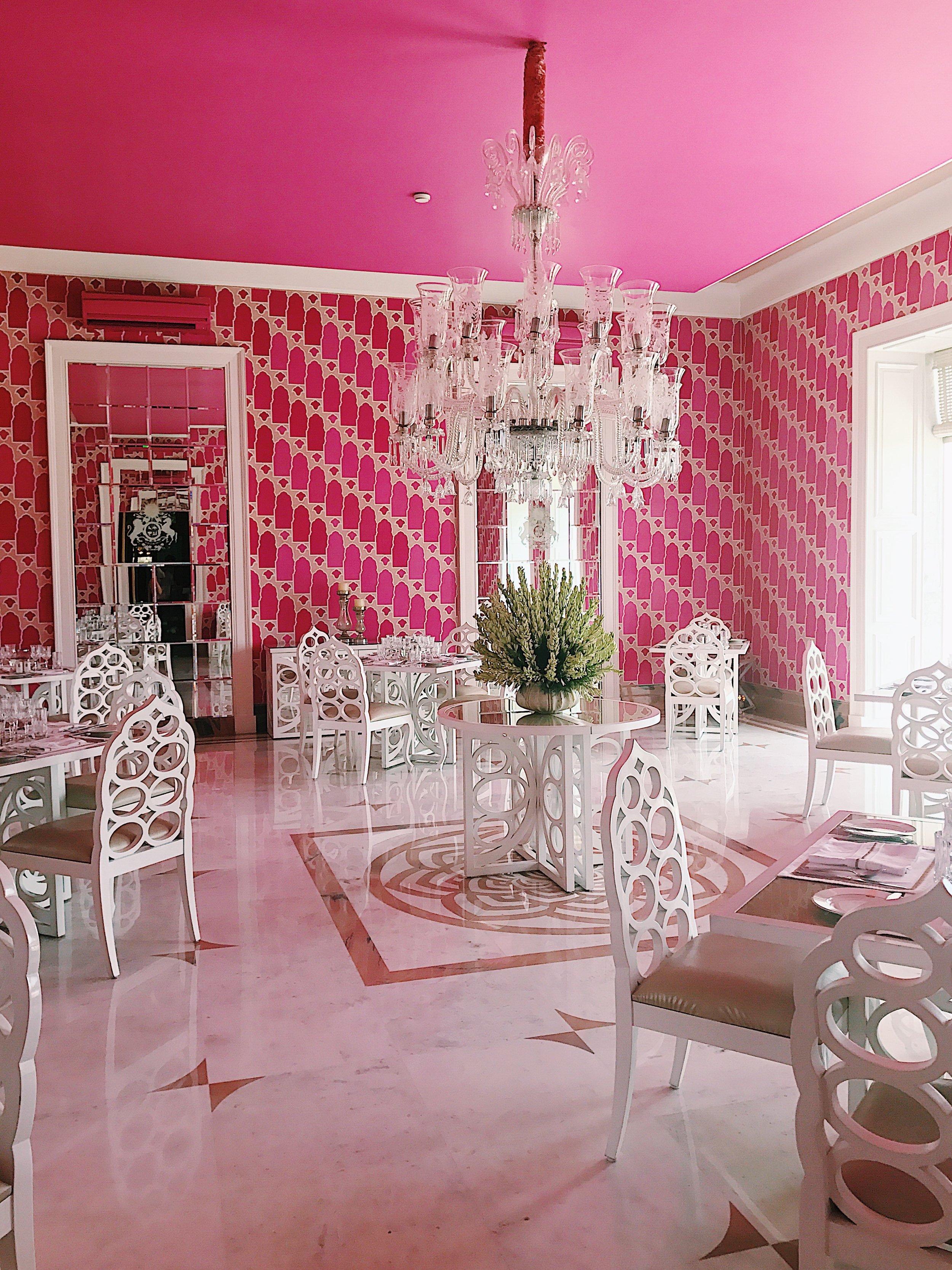 Dining Room at SUJAN Rajmahal
