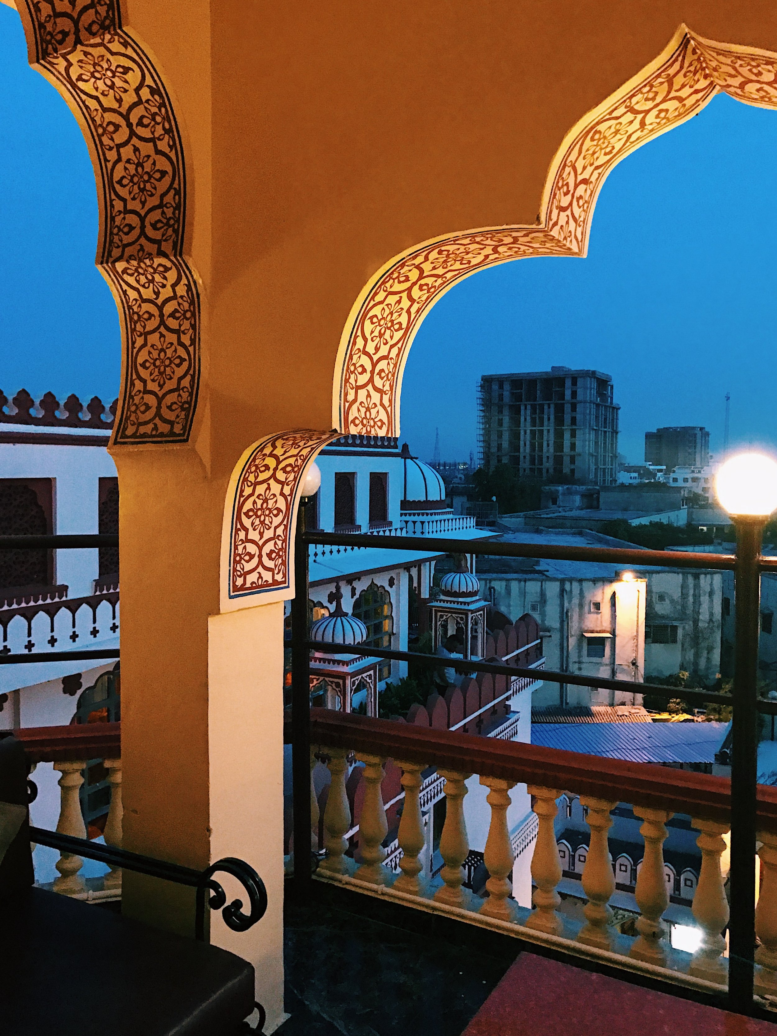 View From Our Humble Haveli