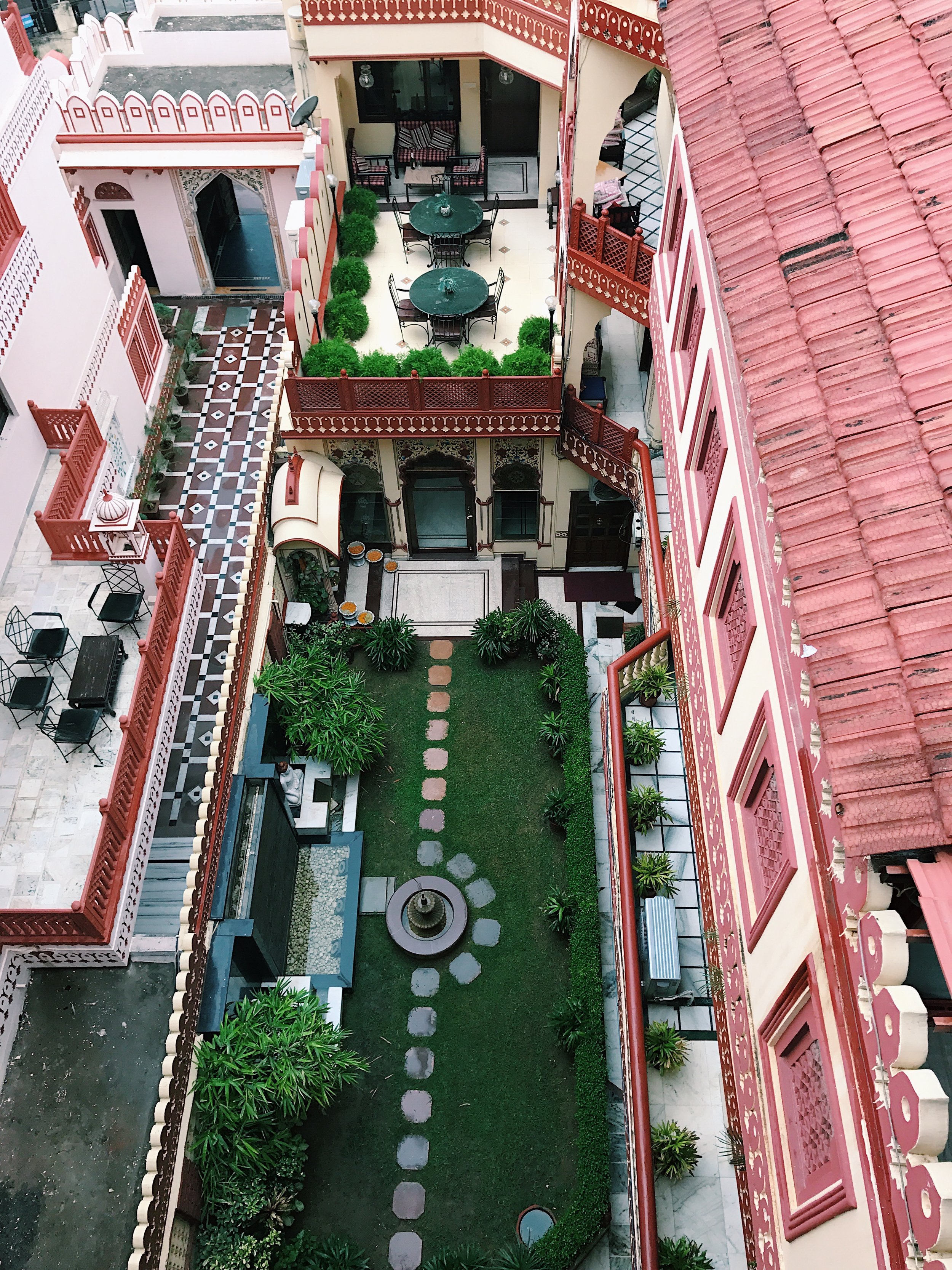 Looking Down From Our Humble Haveli