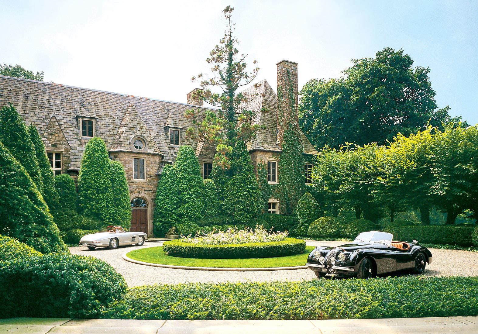 Ralph Lauren's Bedford Estate. Image via Architectural Digest.