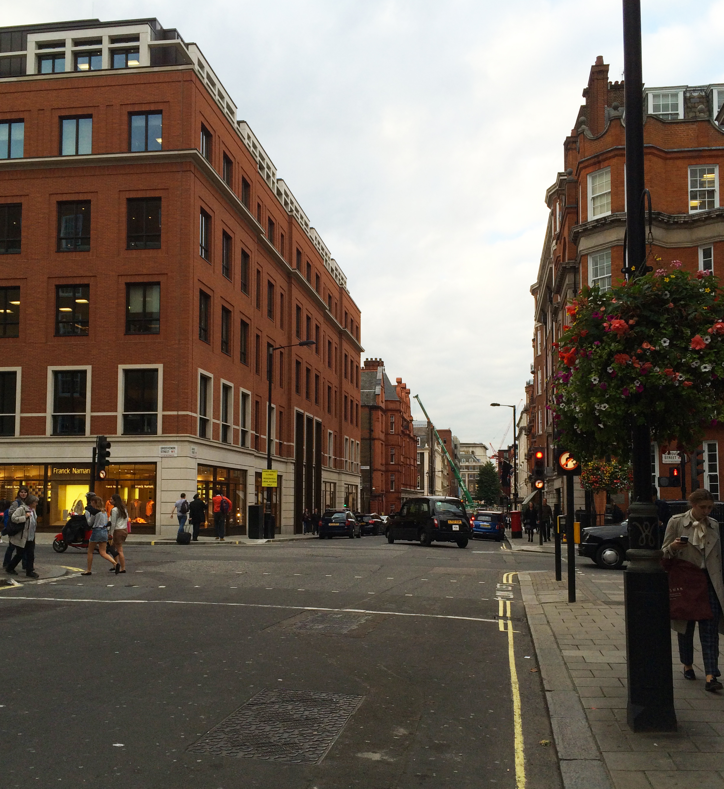 Davies Street in London's cosmopolitan Mayfair.