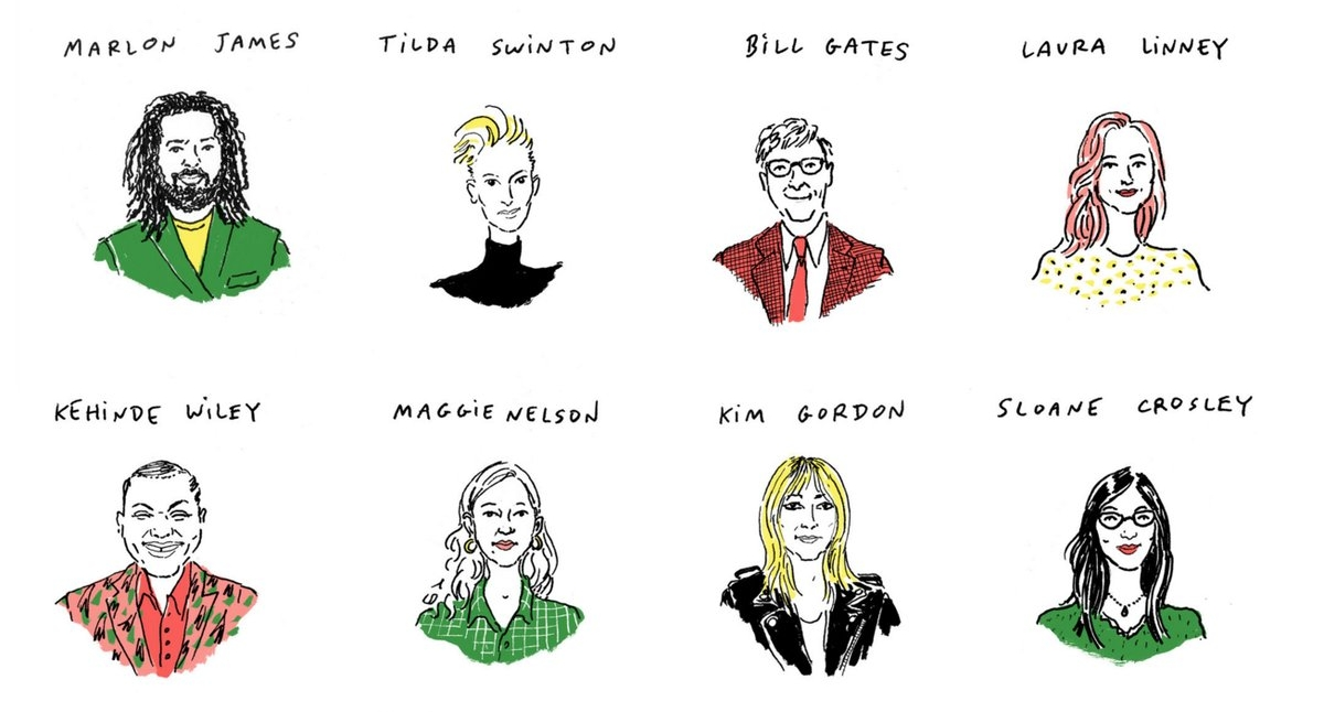Eight visionaries recommend a read. Image via The New York Times.