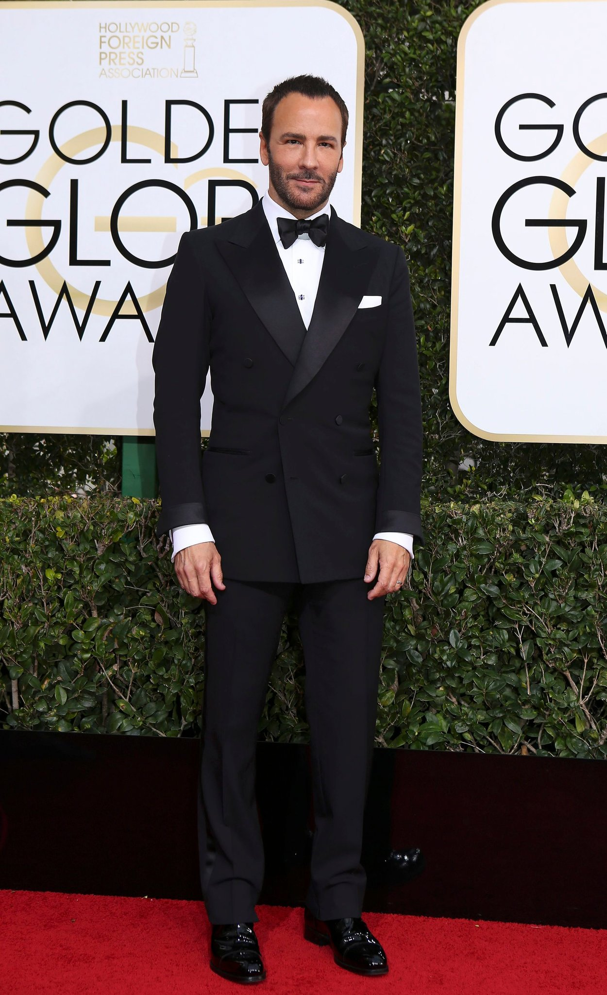 Tom Ford wearing Tom Ford.