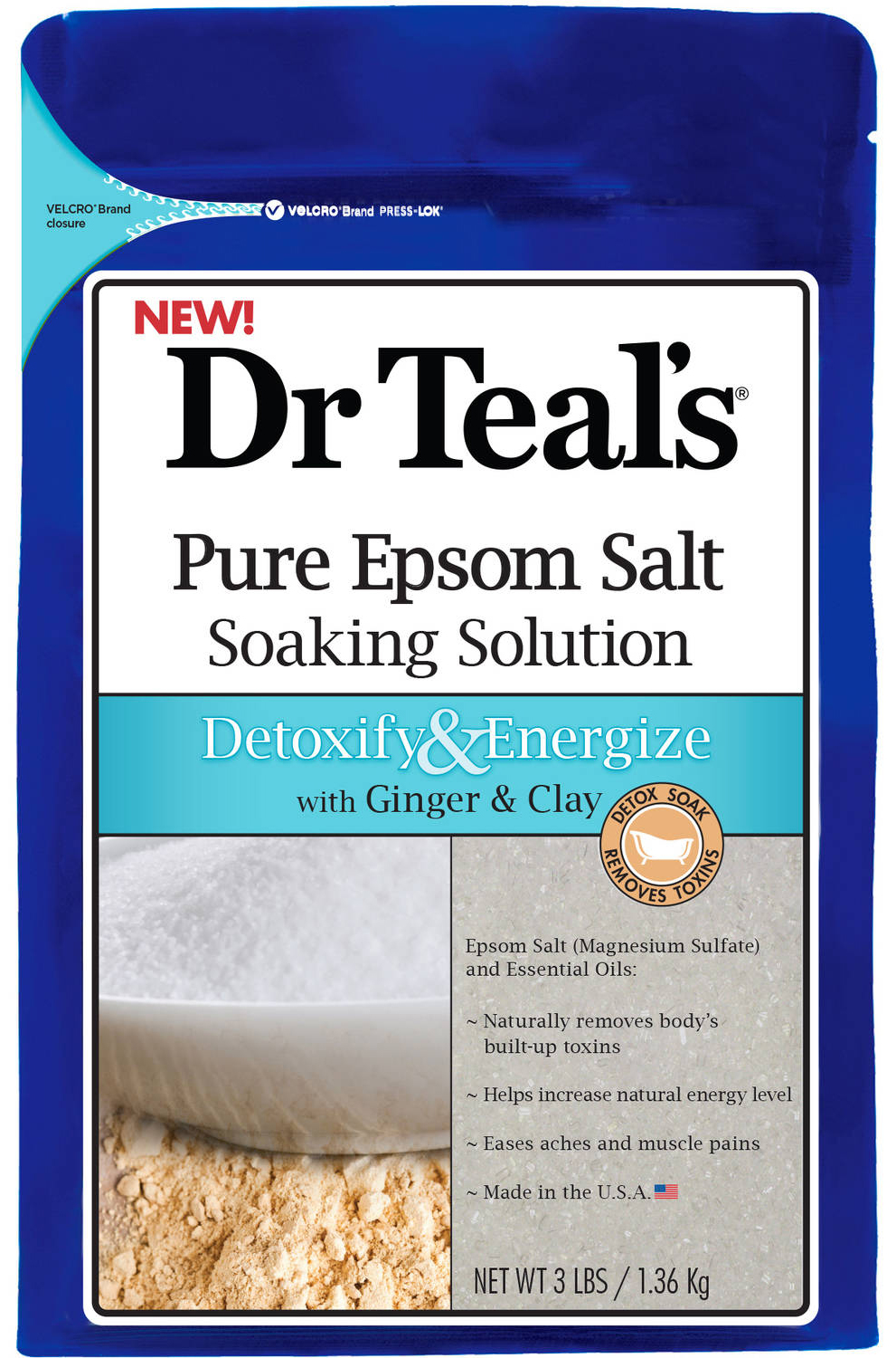 Dr. Teal's Ginger & Clay