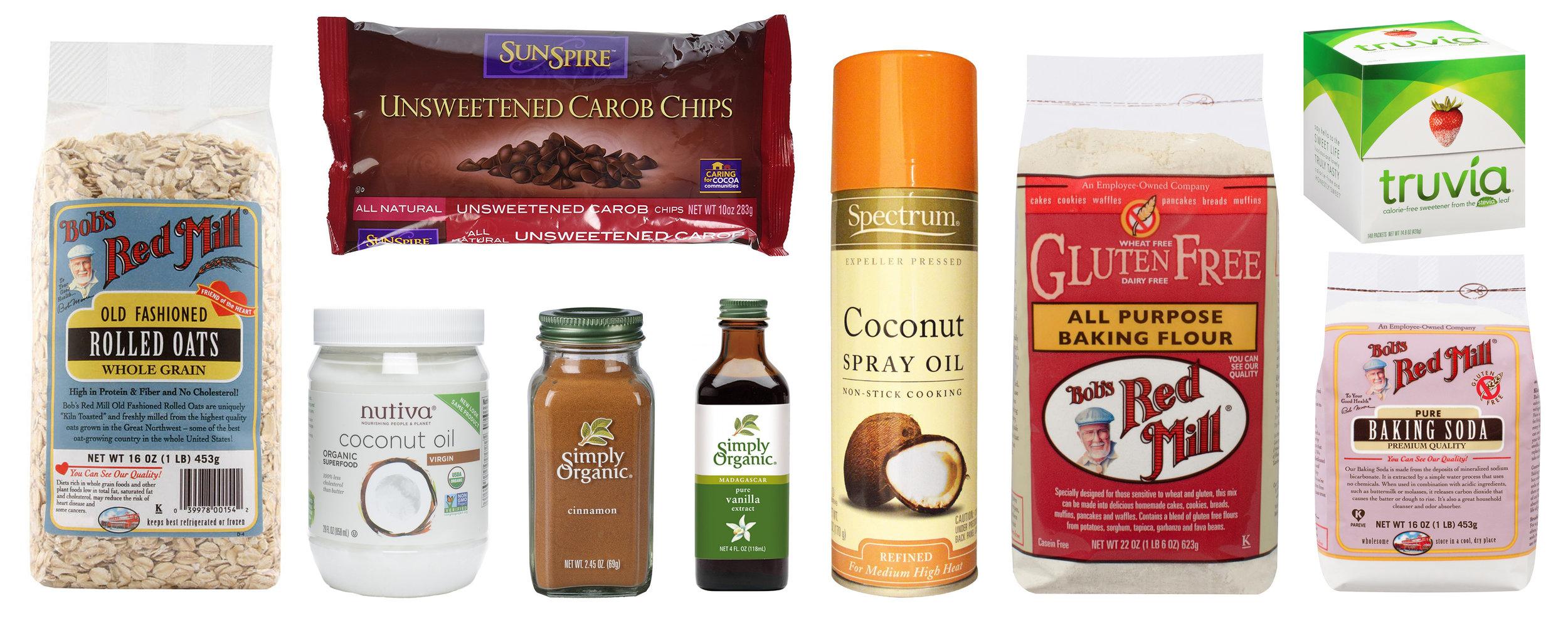 ALB's preferred ingredients.  Thrivemarket.com is a wonderful organic resource.