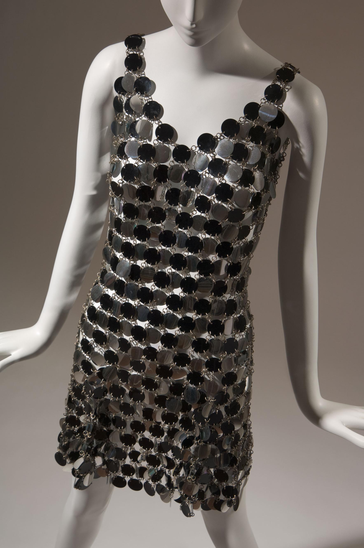 Paco Rabanne, dress, c. 1966.