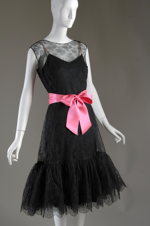 "Cristóbal Balenciaga, ""Baby Doll"" dress, c. 1957."
