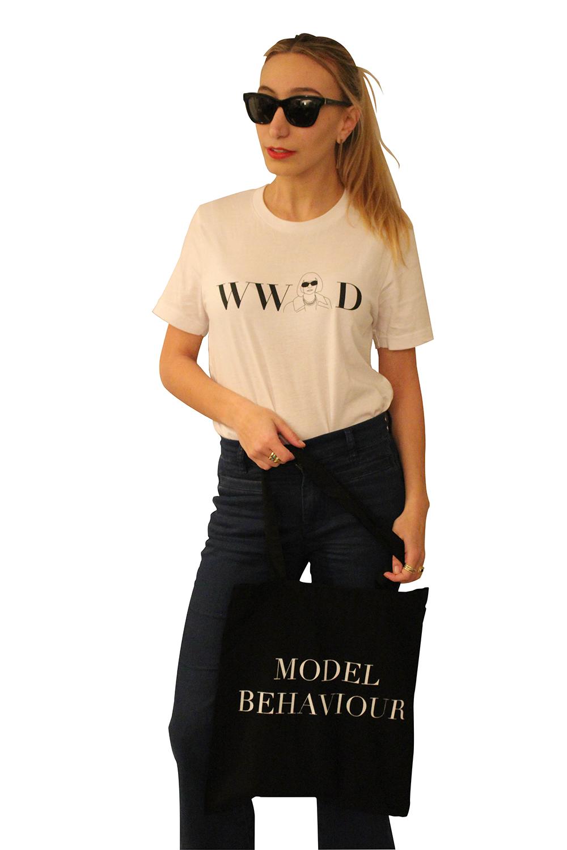 MILLENNIAL's founder, Carolina, in her Off-Duty Model look.