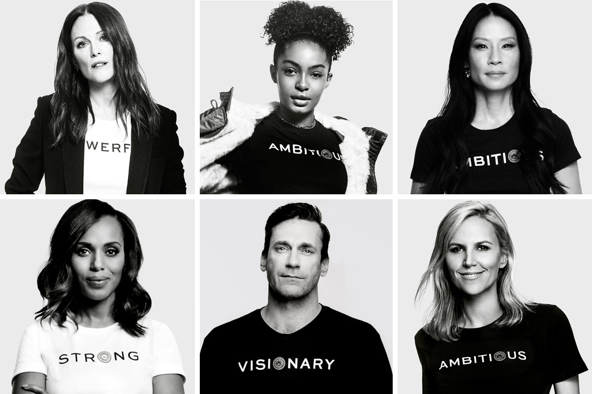 Tory Burch's  Embrace Ambition  initiative. Image via Tory Burch.