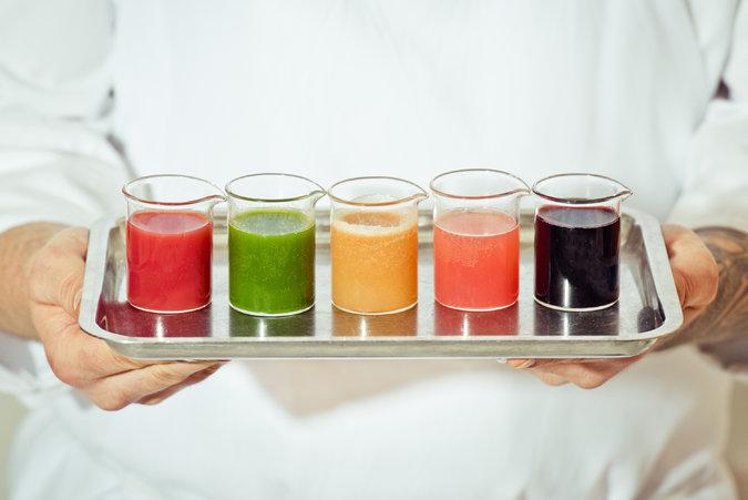 abcV's mood enhancing elixirs. Image via T Magazine.