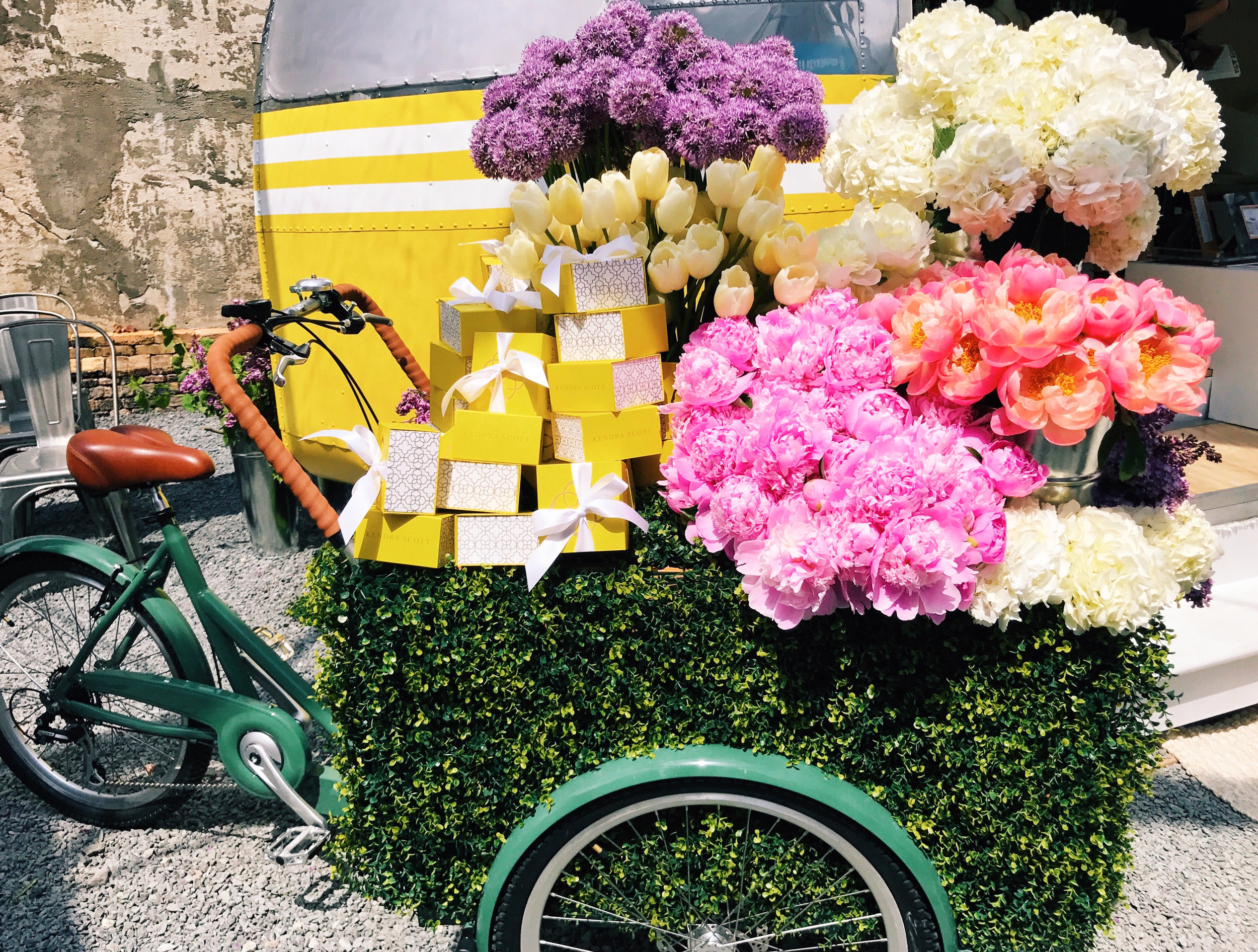 My kind of bicycle! By Kendra Scott.