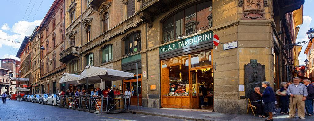 Via Caprarie and Tamburini. Image via Tamburini