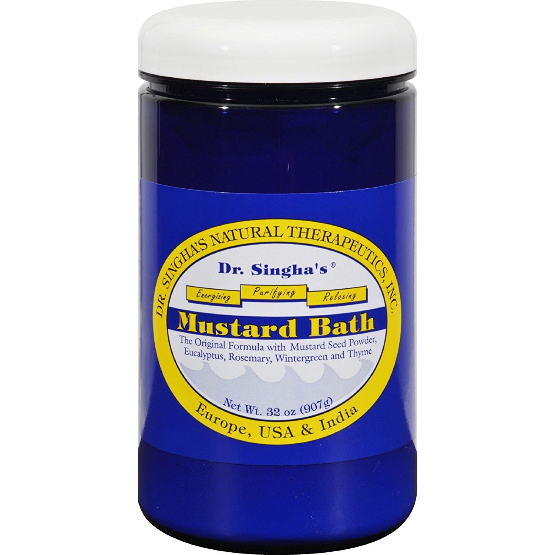 ALB loves Dr. Singha's Mustard Bath.