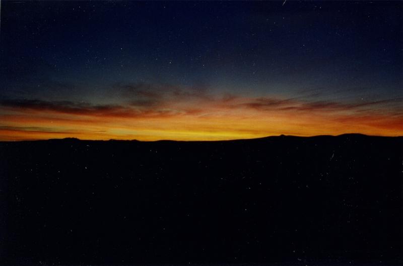 Chaco Canyon Nightfall 1998 – Photo: Bill Hertzog