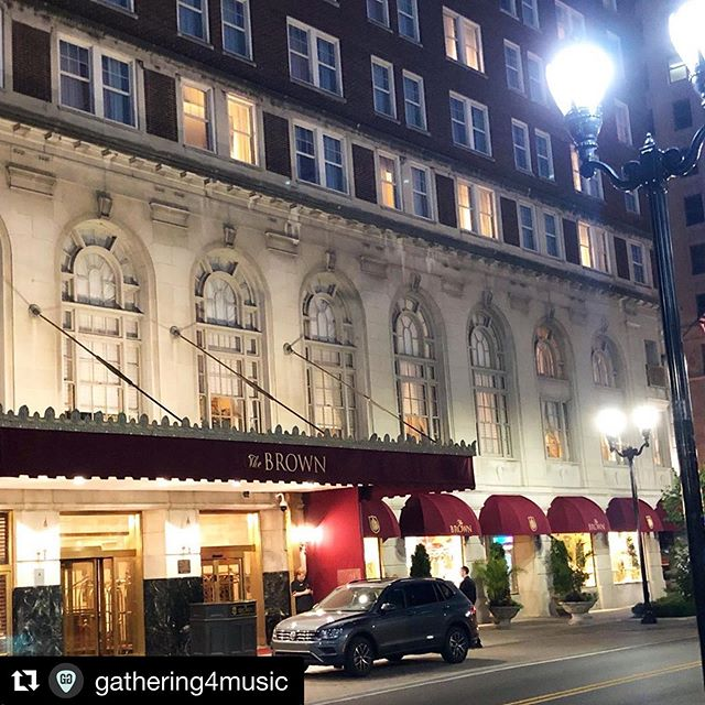 #Repost @gathering4music with @get_repost ・・・ Who's ready to party?! @brownhotel is ready to ROCK!  #gathering4music