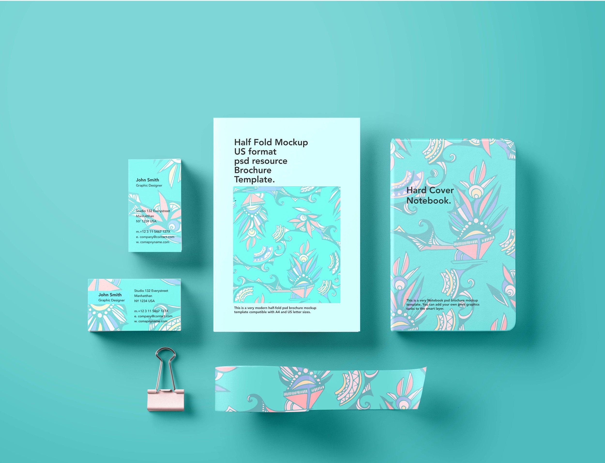 Stationary Branding Turquoise.jpg