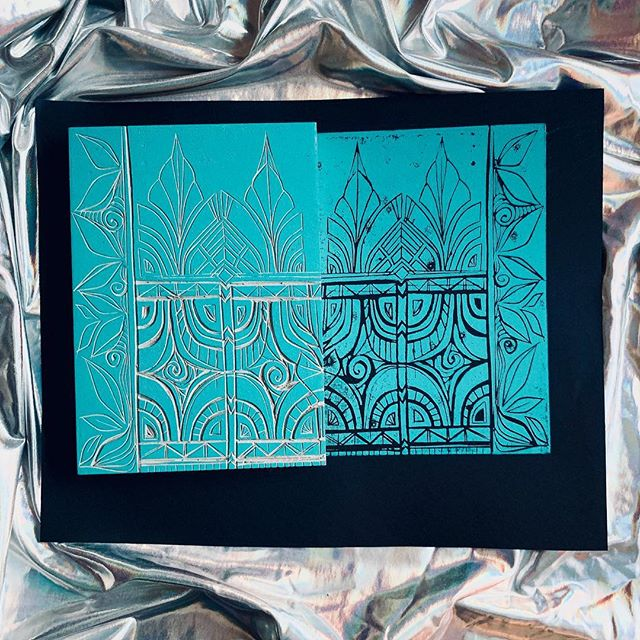 Nü block design! Pretty excited about this one. Inspired by ancient Aztec/Egyptian/Polynesian patterns. #doodlez . Prepping for my RAW Show in Melbourne this summer! . . . #spiraleyez #spiraleyezit #textiledesign #textiles #printmaking #handcarved #linocut #linocutting #turquoise #aztec #ancientegypt #doodleoftheday #artistmade #handprinted #handprintedtextiles #apparelbrand #oneofakindclothing #wearableart #spiraleyezyourself #makeithappen #smallbusiness