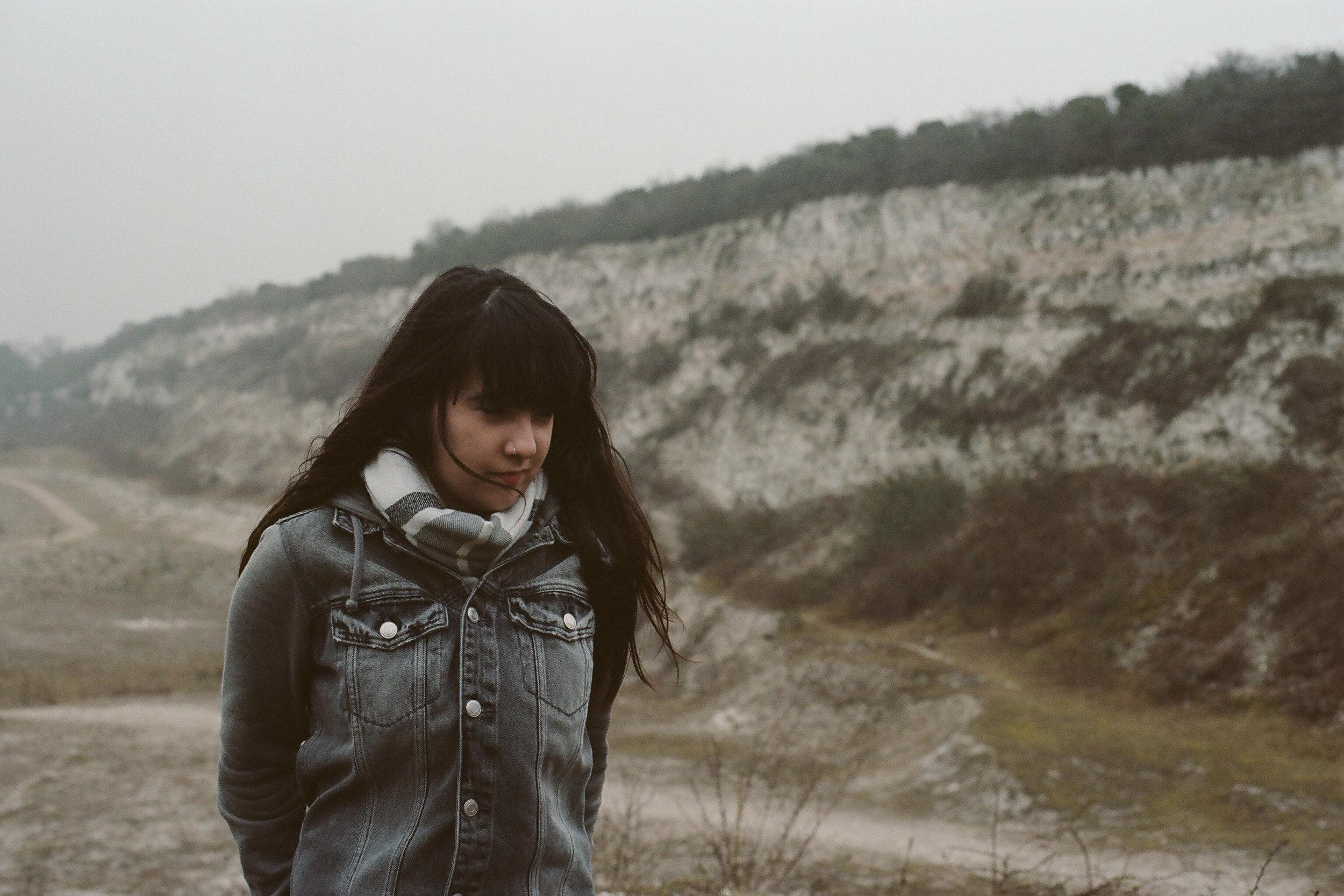 Kimberley Mai Bates @ Cherry Hinton Chalk Pits.
