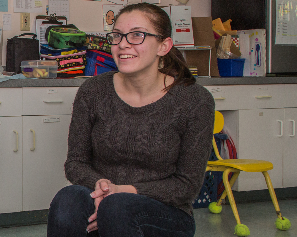 Stephanie (Classrooom Aide)