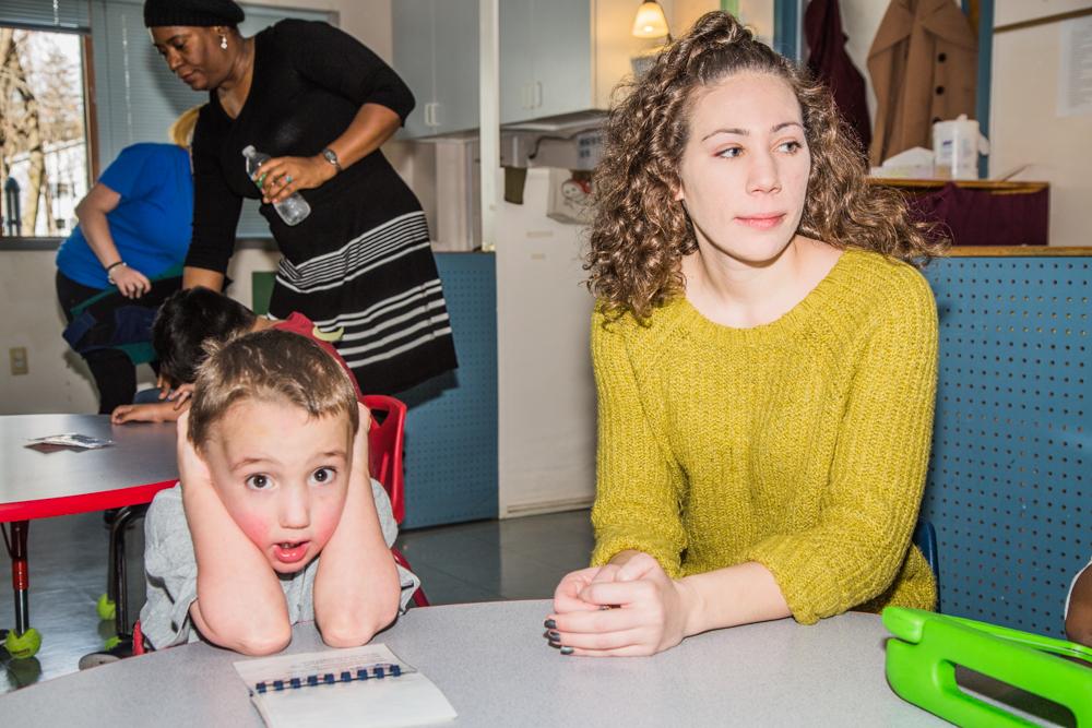 AJ and Kari (Classroom Aide)