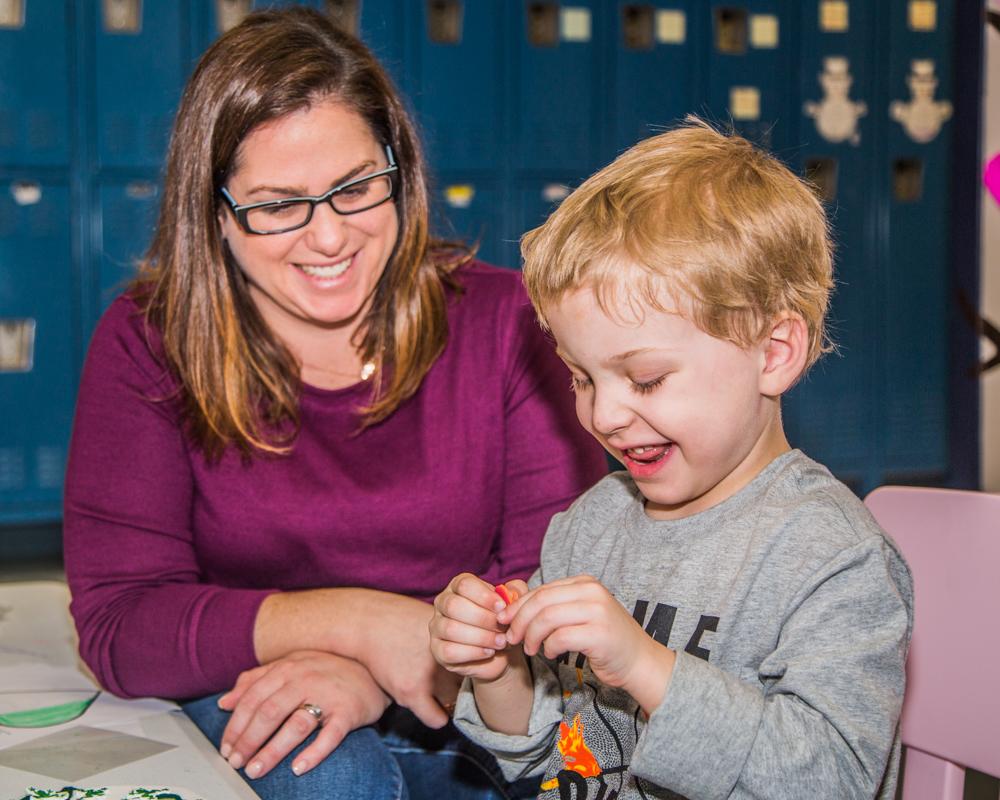 Brendan and Elizabeth (Family Services Coordinator)