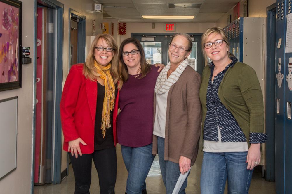 Sandy,  Elizabeth, ,Connie, Allana