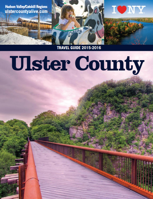 Cover of 2015 Ulster County Travel Guide