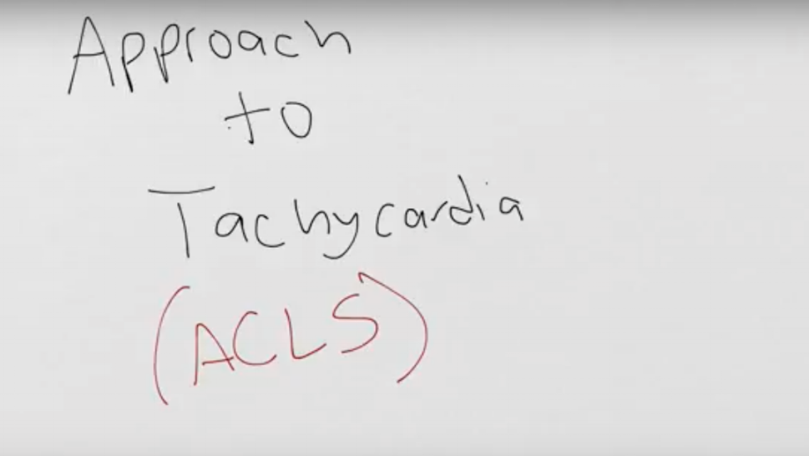 Approach to Narrow Complex Tachycardia