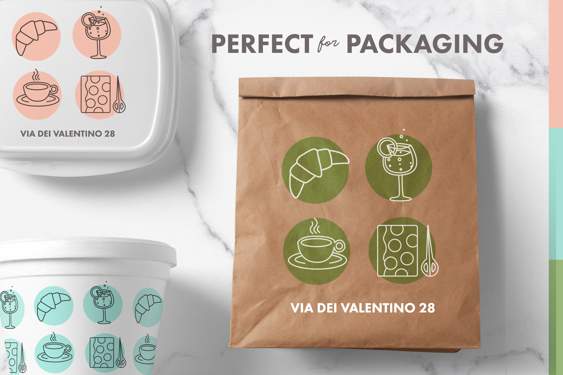 Italian Food and Drink  (SimplyIconPacks.com)
