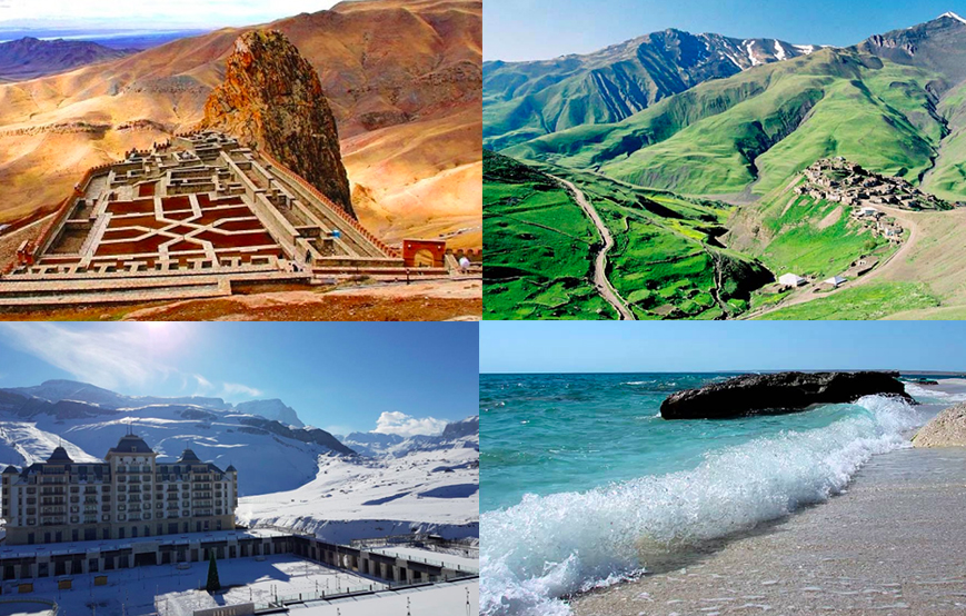 Azerbaijan different climates
