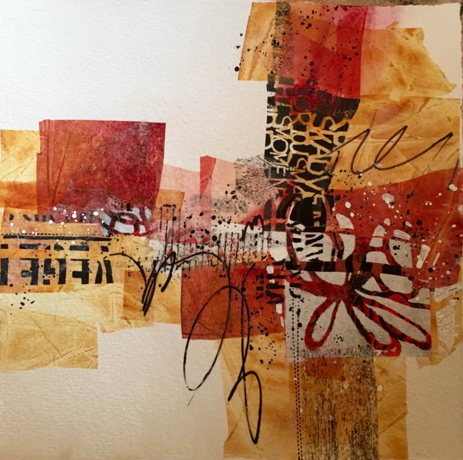Design study using original collage papers. If interested, contact artist. by Jennifer Stone at Jennifer Stone Artwork